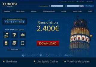 Playtech Europa Casino